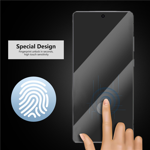 Fingerprints unlock glass protector
